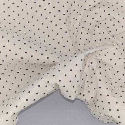 Tela de algodón de topos enanos
