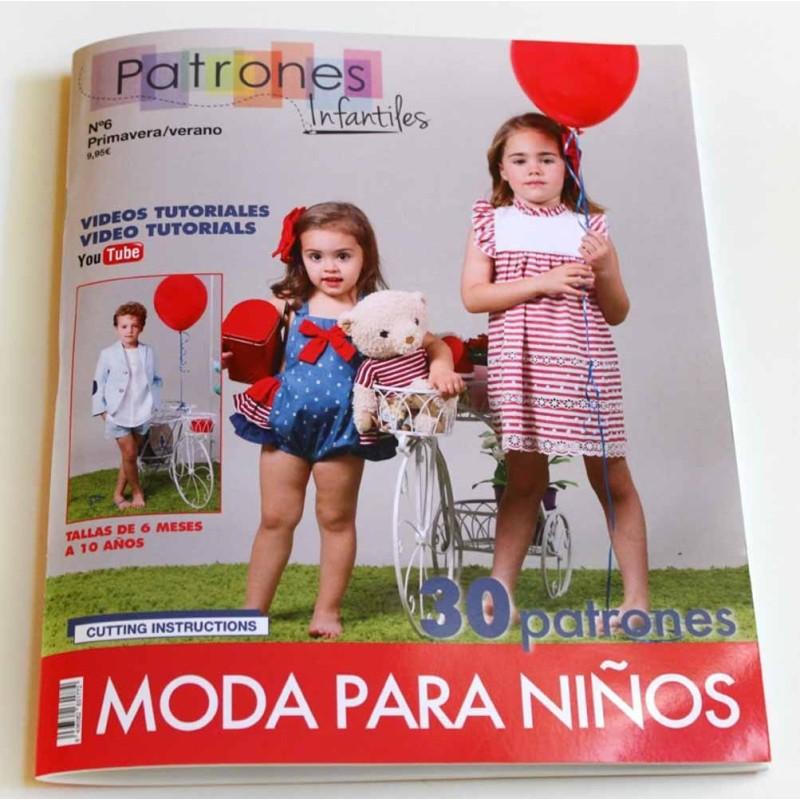 Revista de patrones infantiles Nº 6 - A