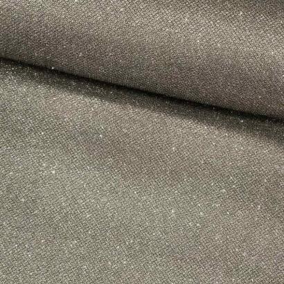 Tela de malla brillante plata lomo