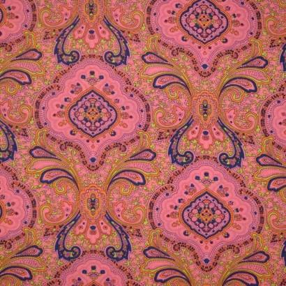 Tela de tergal hippy rosa