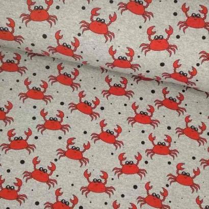 Tela de punto cangrejos