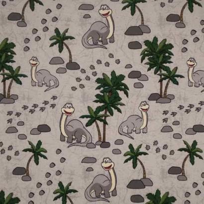 Tela de punto dinosaurios