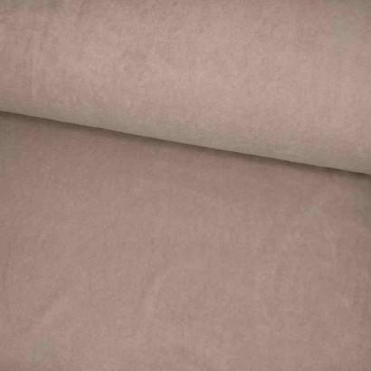 Tela de toalla fina rosa lomo