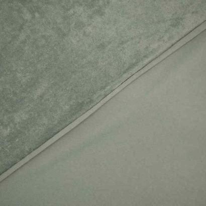 Tela de toalla fina verde 2