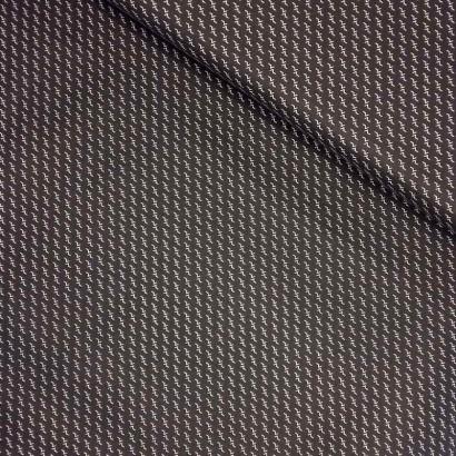 Tela de algodón geométrica lomo