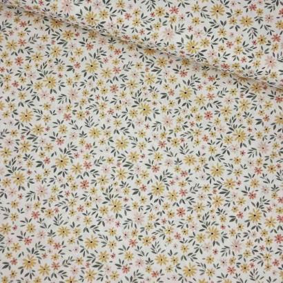 Tela de algodón flores liberty lomo