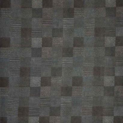 Tela de algodón con cuadrados lisa