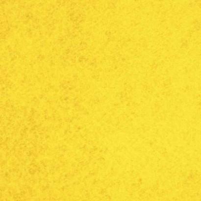 Tela de fieltro amarillo lisa