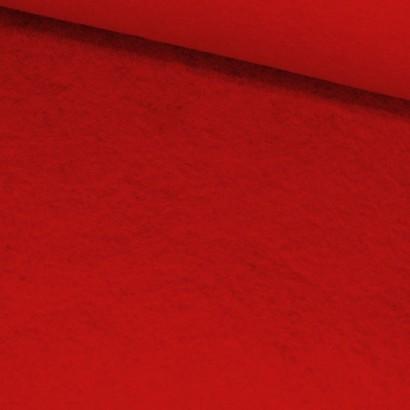 Tela de fieltro lomo roja