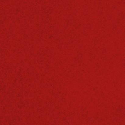 Tela de fieltro lisa roja