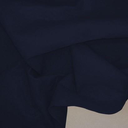 Tela de fieltro arrugada azul marino