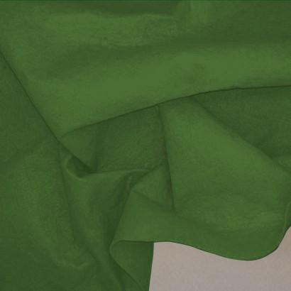 Tela de fieltro arrugada verde hierba