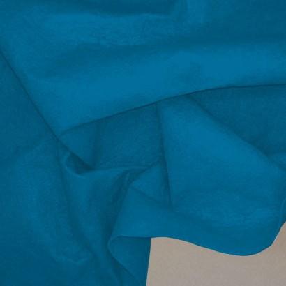 Tela de fieltro arrugada azulón