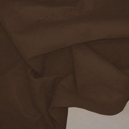 Tela de fieltro arrugada chocolate
