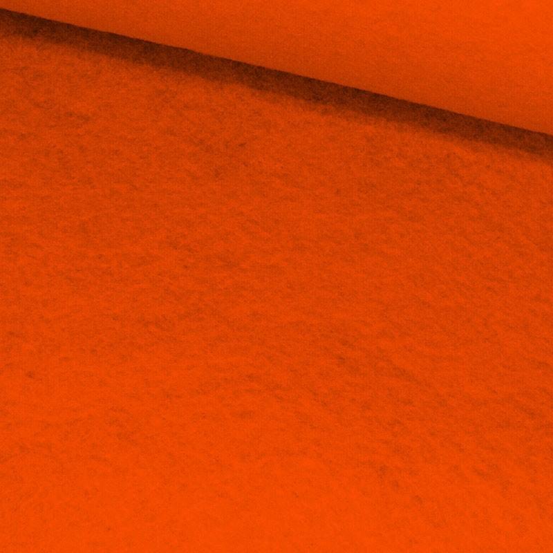 Tela de fieltro lomo naranja