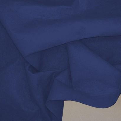 Tela de fieltro arrugada azul