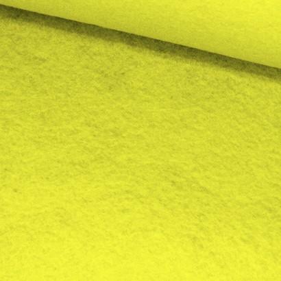 Tela de fieltro lomo amarillo fosforito