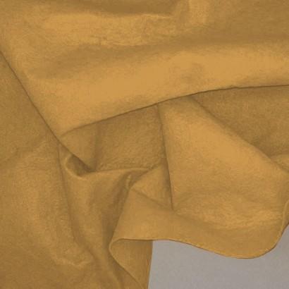 Tela de fieltro arrugada beige