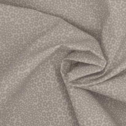 Tela de algodón flor margaritas arrugada