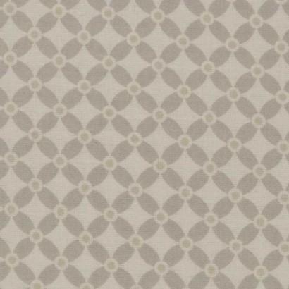Tela de algodón flor simétrica 2
