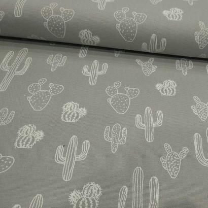 Tela de algodón cactus tubo