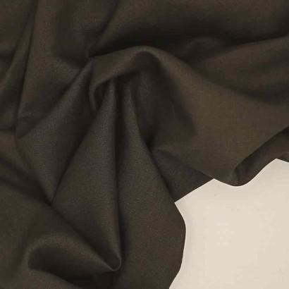 Tela de lino negra arrugada