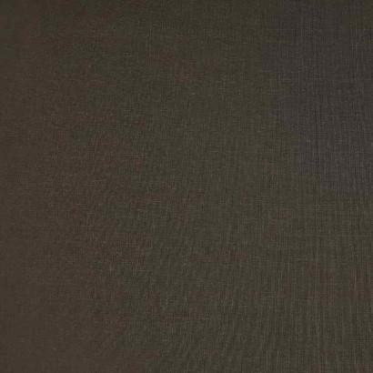Tela de lino negra lisa