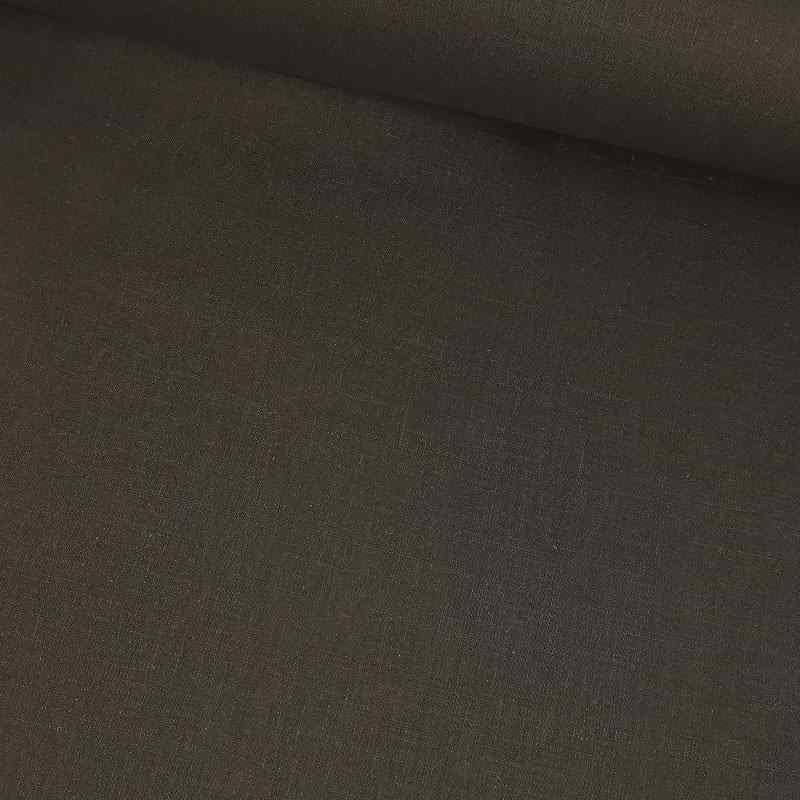 Tela de lino negra lomo
