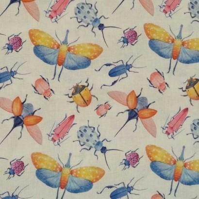 Tela de algodón de insectos 2