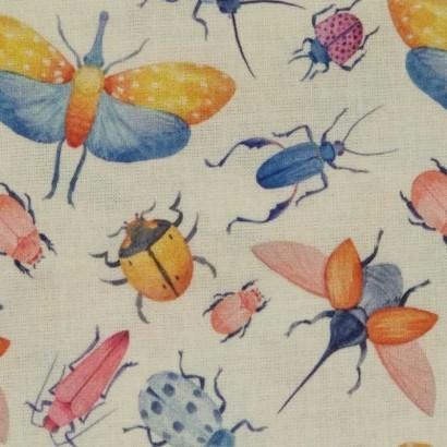 Tela de algodón de insectos 1