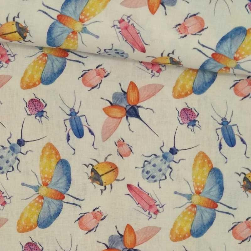 Tela de algodón de insectos tubo