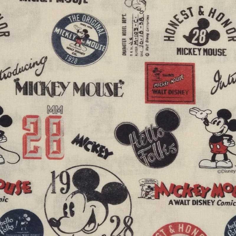 Tela de algodón Micky Mouse 1