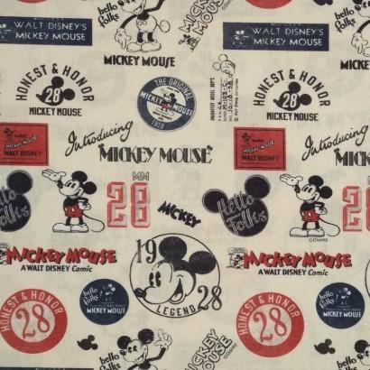 Tela de algodón Micky Mouse 2