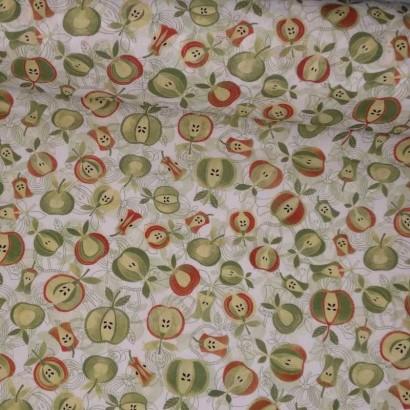 Tela de algodón de manzanas tubo