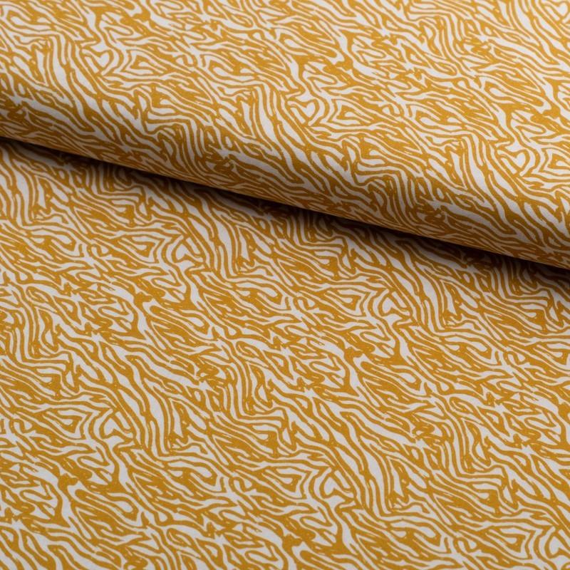 Tela de algodón retro animal print lomo