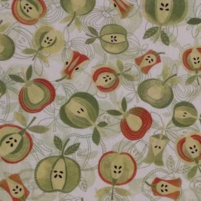 Tela de algodón de manzanas 2