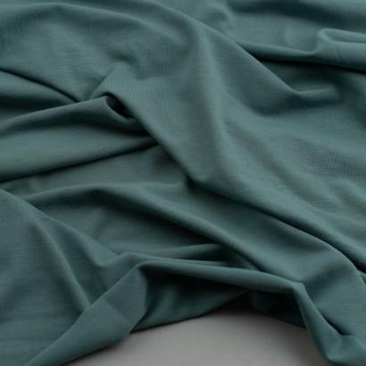 Tela de punto camiseta lisa bambú arrugada arrugada