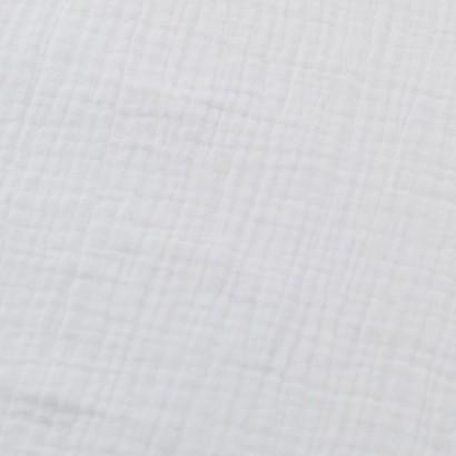 muselina blanca lisa