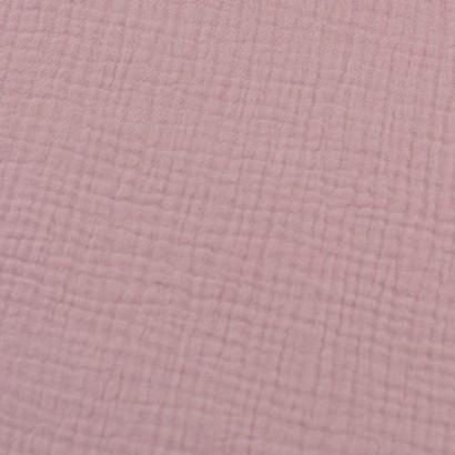 muselina rosa palo lisa