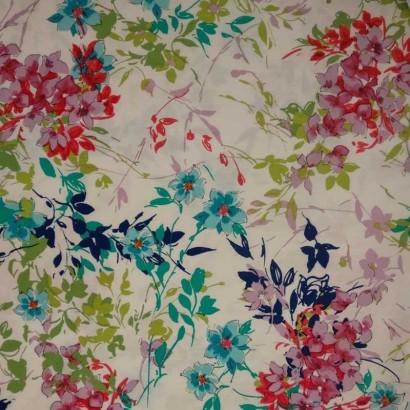 Tela de algodón colores vivos 2