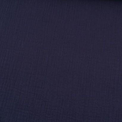 muselina azul lisa