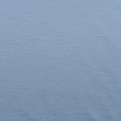 Tela de punto camiseta lisa algodón azul celeste lisa