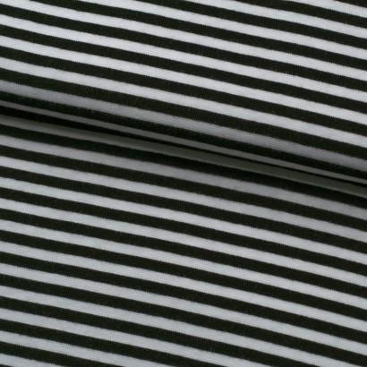 Tela de canalé tubular rayas lomo