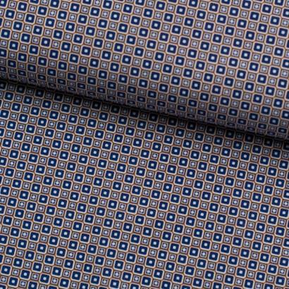 Tela de algodón patrón geométrico lomo