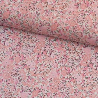 Tela de algodón flores liberty vintage lomo
