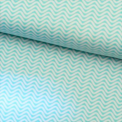 Tela de lycra rayas zigzag lomo