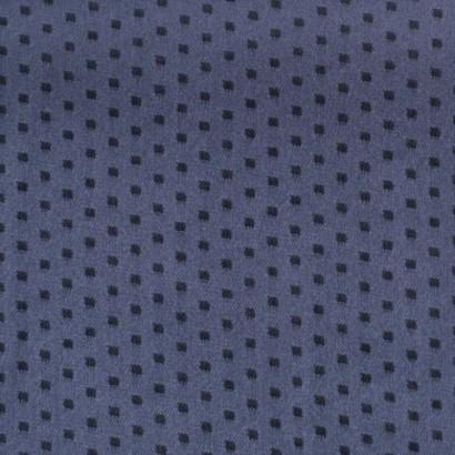 Tela de seda topos cuadrados lisa