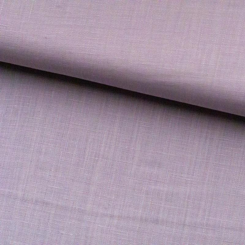 Tela de algodón lisa lomo