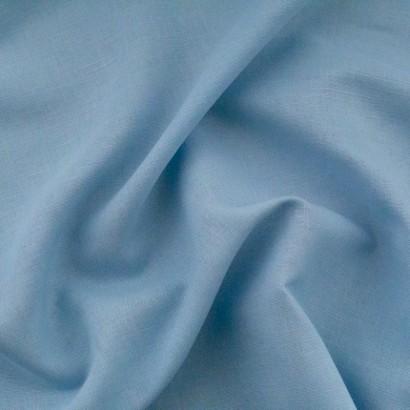 Tela de algodón lisa arrugada