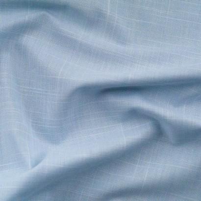 Tela de algodón chambray arrugada